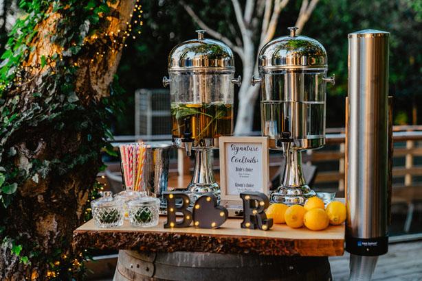 feestlocatie Cocktailbar met 2 soorten cocktail