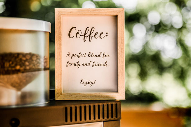 Koffiebakfiets, Coffee a perfect blend for family and friends. Enjoy!